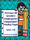 McGraw Hill Wonders Independent Reading
