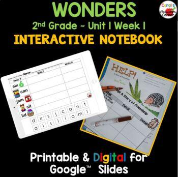 Wonders 2nd Grade Interactive Journal Unit 1 Week 1