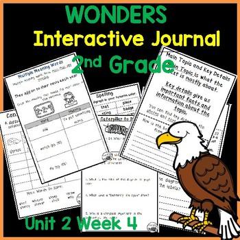 Wonders 2nd Grade Interactive Journal Unit 2 Week 4