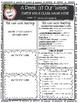 McGraw-Hill Wonders KINDERGARTEN EDITABLE Weekly Newsletter Pack - UNIT 3 & 4