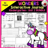 Wonders Kindergarten Interactive Journal Unit 2