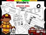 Wonders Kindergarten Interactive Journal Unit 4- Week 1