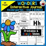 Wonders Kindergarten Interactive Journal Unit 5