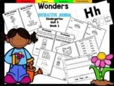 Wonders Kindergarten Interactive Journal Unit 5- Week 1