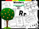 McGraw Hill Wonders Kindergarten Interactive Journal Unit 5-Week 3