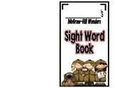McGraw-Hill Wonders, Kindergarten Sight Word Book