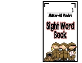 McGraw-Hill Wonders, Kindergarten Sight Word Booklet