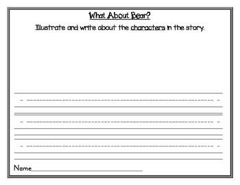 McGraw-Hill Wonders Kindergarten Unit 1 Week 1 What About Bear?