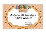 McGraw Hill Wonders Kindergarten Unit 1 Week 2