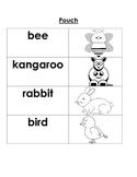 McGraw Hill Wonders Kindergarten Unit 1 Week 2 - Pouch!