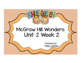 McGraw Hill Wonders Kindergarten Unit 2 Week 2