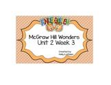 McGraw Hill Wonders Kindergarten Unit 2 Week 3