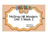 McGraw Hill Wonders Kindergarten Unit 3 Week 2