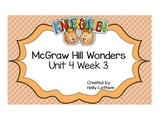 McGraw Hill Wonders Kindergarten Unit 4 Week 3