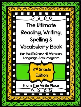 McGraw Hill Wonders Language Arts Support for Third Grade