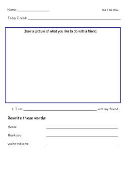 McGraw Hill Wonders Leveled Reader Response Sheets...10 week Bundle