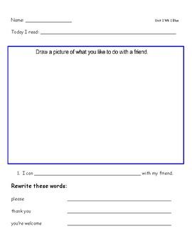 McGraw Hill Wonders Leveled Reader Response Sheet