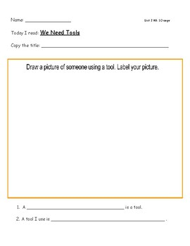 McGraw Hill Wonders Leveled Reader Response Sheet Unit 2 Week 1