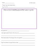 McGraw Hill Wonders Leveled Reader Response Sheet Unit 5 Week 1
