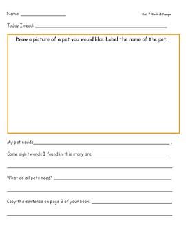 McGraw Hill Wonders Leveled Reader Response Sheets Unit 7 Week 2