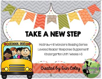 Wonders Leveled Reader Response Unit 1: Take a New Step (K)