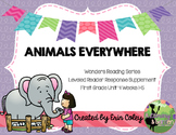 McGraw-Hill Wonders Leveled Reader Response Unit 4: Animals Everywhere (1st)