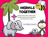 Wonders Leveled Reader Response Unit 4 Week 2: Animals Together FREEBIE