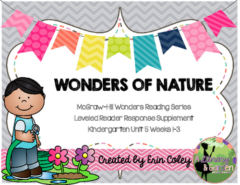 Wonders Leveled Reader Response Unit 5: Wonders of Nature (K)