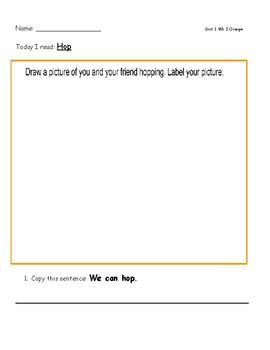 McGraw Hill Wonders Leveled Readers Response Sheet Unit 1 Week 2