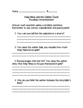 McGraw-Hill Wonders Literature Anthology Assessments Unit 6