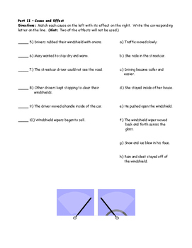 McGraw Hill Wonders - Mary Anderson's Great Invention Comprehension Activity