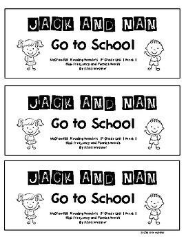 McGraw-Hill Wonders Mini Books - 1st grade - Unit 1