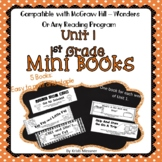 McGraw-Hill Wonders Mini Books - 1st grade - Unit 1