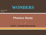 McGraw-Hill Wonders PHONICS STUDY BOARD - Grade 2:  Unit 2