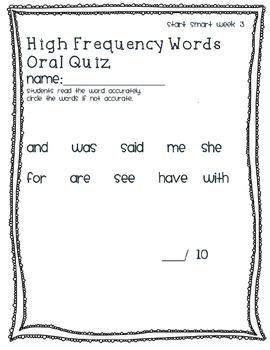 McGraw Hill Wonders Phonics Quiz Bundle