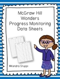 McGraw Hill Wonders Progress Monitoring Data Sheets
