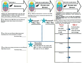 McGraw Hill Wonders Reading 3d Grade Key Short Passages Tri-Folds Unit 4