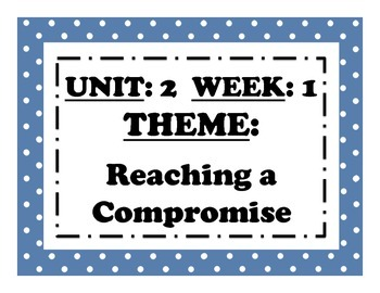 McGraw Hill Wonders Reading Focus Wall Signs: 5th Grade - Unit 2 Week 1