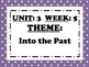McGraw Hill Wonders Reading Focus Wall Signs: 5th Grade - Unit 3 Week 5