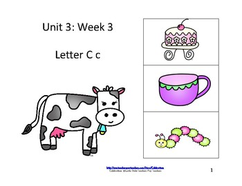 McGraw-Hill Wonders Reading Groups: Unit 3, Week 3:  Letter C