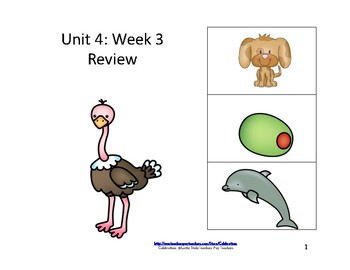 McGraw-Hill Wonders Reading Group Unit 4 Week 3 Review