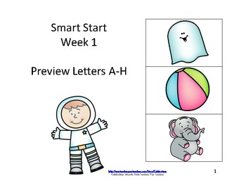 McGraw-Hill Wonders Reading Groups: Smart Start, Week 1:A-H