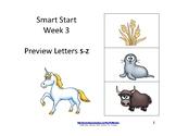 Reading Groups: Start Smart, Week 3: Letter S-Z