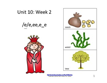 McGraw-Hill Wonders Reading Groups: Unit 10, Week 2: Letter-/ e/ee/