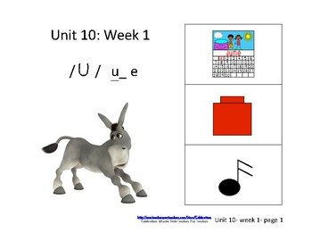 McGraw-Hill Wonders Reading Groups: Unit 10, Week 1: Letter u_e