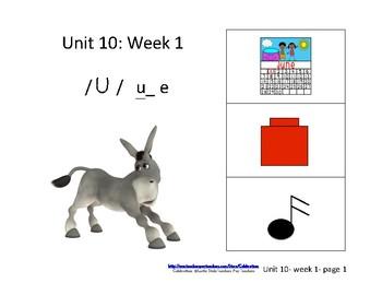 Reading Groups: Unit 10, Week 1: Letter u_e