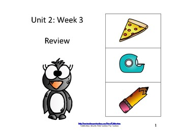 McGraw-Hill Wonders Reading Groups: Unit 2, Week 3: Review