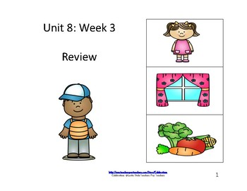 McGraw-Hill Wonders Reading Groups: Unit 8, Week 3:  Review