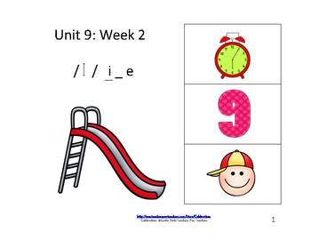 Reading Groups: Unit 9, Week 2: Letter i_e