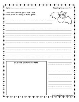 McGraw-Hill Wonders Reading Response Sheets, Unit 4
